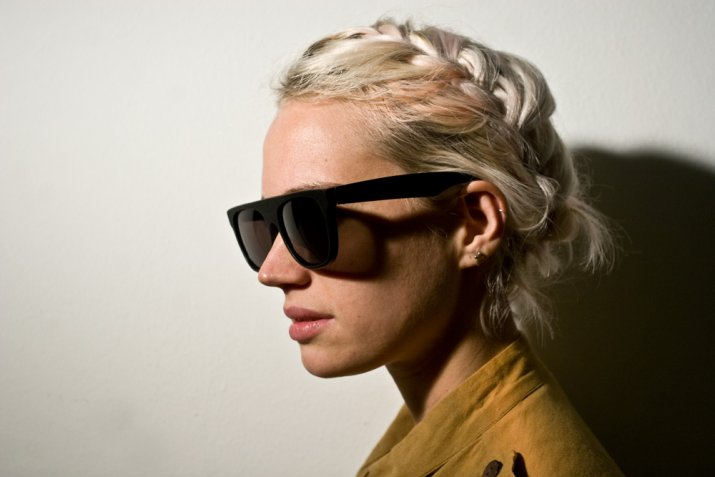 Super Flat Top Sunglasses Replica Above Super Flat Top Black